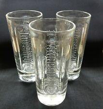 3 JAGERMEISTER LONG DRINK SHOT HIGHBALL TUMBLER GLASSES - NEW - HOME BAR - PUB