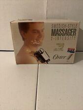 Vintage Oster Chrome 2-Intensity Swedish-Style Massager 138-11 w/ Box Made USA