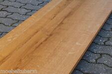 Tischplatte Regalbrett Platte Eiche Wild Rustikal Massiv Holz Leimholz Brett !