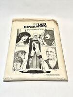 Fabulous Vintage Port Folio The Last Generation Vintage Comic Signed & Numbered
