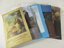 Mormon Themed Program Covers Baptism Sacrament Missionary Farewell Homecoming