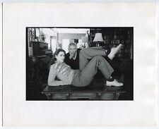 Jill Krementz - Norman Mailer et sa femme Norris Church - Tirage baryté 1980 -