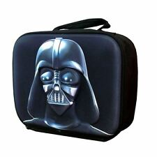 Lunch Insulated Bag New Official Starwars Darth Vader 3D Kids School - Black
