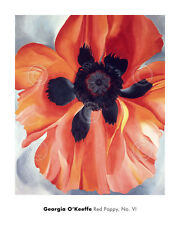 Red Poppy, No. VI, 1928 by Georgia O'Keeffe Art Print Floral Flower Poster 24x30