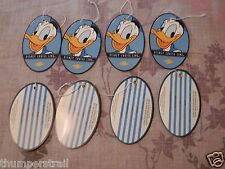SET OF ( Eight ) 8 NEW DISNEY CRUISE LINE LUGGAGE TAGS DONALD DUCK