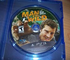 MAN VS WILD with Bear Grylls (Sony PlayStation 3, 2011) * PS3 * guter Zustand *