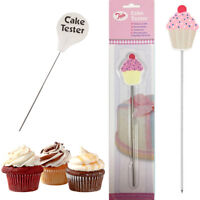 Cake Tester Baking Probe Skewer Cupcake Muffin Testing Cooking Bread Stainless