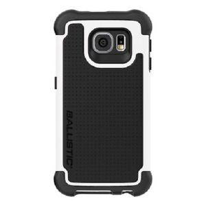 Ballistic Samsung Galaxy S6 Tough Jacket Drop Protection Case Black White