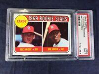 U3-71 BASEBALL CARD - 1969 ROOKIE STARS - 1969 TOPPS - GRADE 7 - CARD #559