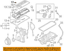 BMW OEM 01-06 X5 3.0L-L6 Engine-Upper Cover Cap 11121726089