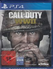 Call of Duty: WW2 / WWII / PlayStation 4 / PS4 Activision World War 2 NEU & OVP