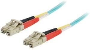 Cables To Go 5m 10 Gb LC/LC Duplex 50/125 Multimode Fibre Patch Cable - 85195