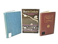 3 Book Lot: MUSIC CONDUCTING  Conductors Musical Technique