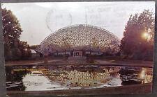 Climatron Saint Louis MO Shaw's Garden Geodesic Dome Plexiglas on Aluminum Frame