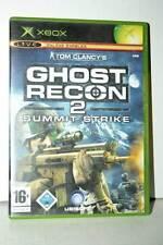 GHOST RECON 2 SUMMIT STRIKE USATO OTTIMO XBOX EDIZIONE ITALIANA PAL GD1 39721