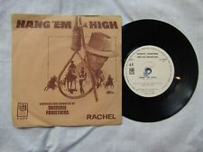 "DOMINIC FRONTIERE HANG 'EM HIGH rare 7"" made in Israel"