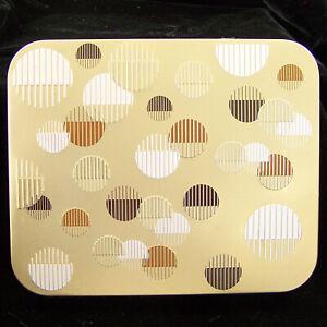 Ferrero Rocher Chocolate Collectors Tin Box Empty Can Container & Paper Label