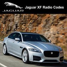 Jaguar Radio Code XF Security Unlock Codes Sat Nav Decode - Fast Service
