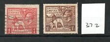 GB - GEORGE V (372) - Wembley Exhibition 1924 - both values - used