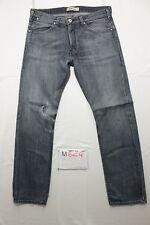 Levi's 504 straight jeans usato (Cod.M624) Tg.50 W36 L34 boyfriend