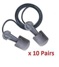 10 Earplugs Pistonz 3M Pistonz Push-to-Fit Individually Wrapped Corded