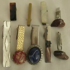 LOT of  Vintage CLIPS, TIE CLIPS & CUFF LINKS