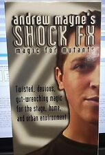 Shock Fx Andrew Maye Twisted Devious Magic Vhs Video Tape