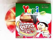 Yupi Gummy Candies GUMMI PIZZA Real Fruit Juice + Vitamin C Gelatin Fruit 23g