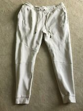 Nike tech track bottoms extra large grey white
