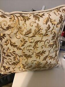 Croscill Nadalia Square Fashion Pillow, NEW