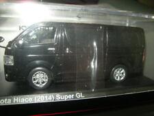 1:43 Kyosho Toyota Hiace 2014 Super GL Black/Schwarz Mica Nr. 03861BK OVP