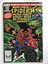 Marvel Team Up Annual 5 VF Spider-Man Thing Scarlet Witch Will Combine Shipping