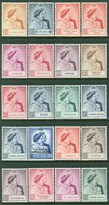 OMNIBUS : 20 High Value 1948 Silver Weddings. Very Fine, Mint Never Hinged.