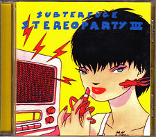 CD Various SUBTERFUGE STEREOPARTY 3 Spain 2000 M.MARTIN sexy sadie MERCROMINA