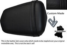 BLACK CUSTOM MADE 03-05 FITS YAMAHA 600 YZF R6 REAR LEATHER SEAT COVER