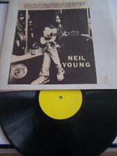 LP 33 T VINYLE , NEIL YOUNG , DISQUE PIRATE , ETAT UNIS , L.A 1971 . VG / EX