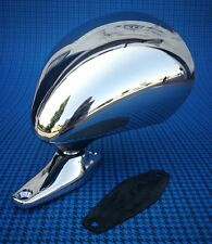 Specchio retrovisore cromato tipo Vitaloni d'epoca-exterior rearview mirror