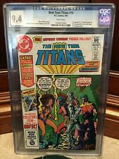 NEW TEEN TITANS #16 CGC 9.4 NM 1ST APP OF CAPTAIN CARROT (ID 3840)