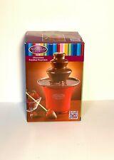 Nostalgia Chocolate Fondue Fountain