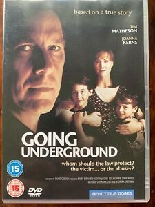 Going Underground DVD 1993 True Life Domestic Abuse Drama TV Movie
