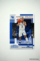 KELDON JOHNSON 2019-20 PANINI CONTENDERS DRAFT PICKS SCHOOL COLORS #13 ROOKIE