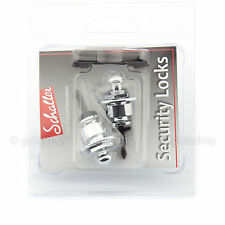 NEW Genuine Schaller Germany Strap Lock Security Locks System Straplock - CHROME