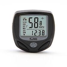 Compteur Sans Fil pour Vélo Odomètre Chronomètre Horloge
