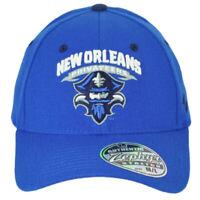NCAA Zephyr New Orleans Privateers Flex Fit Stretch Medium Large Blue Hat Cap