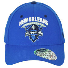 NCAA Zephyr New Orleans Privateers Flex Fit Stretch Medium Large Blue Hat Cap