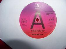 Meri Wilson - Rub-a-dub-dub / Silver bue Mercedes    UK PYE 45