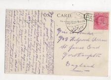 Port Taufiq Paquebot Postmark 13 Nov 1913 RIMS Dufferin 442b