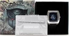 Transformers Metal Decepticon Logo Dial Watch