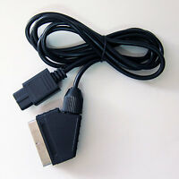 SNES SCART Cable Stereo RGB Real HD Cord Lead for (NTSC) Super Nintendo Console