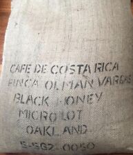 5 lbs Green Coffee Beans Costa Rica Finca Olman Vargas Black Honey Process 2019